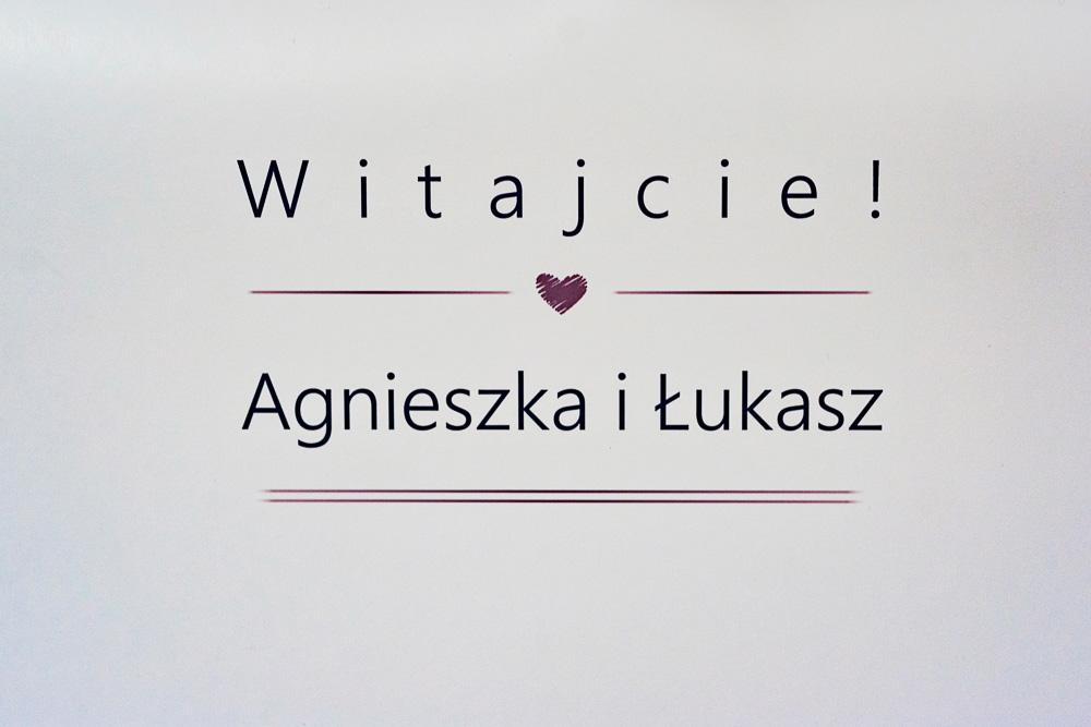 Agnieszka i Łukasz