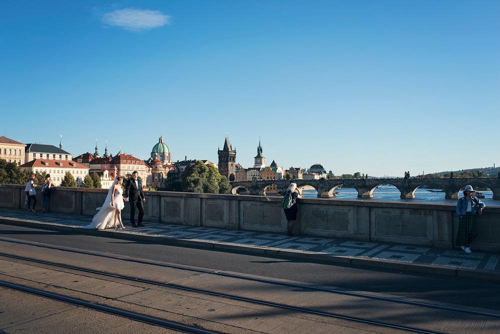 mosta Karola w Pradze