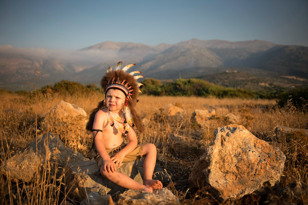 mały indianin