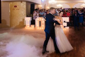 ciężki dym na weselu