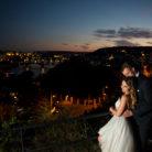 praga nocą sesja ślubna