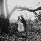 tajemnicza sesja ślubna