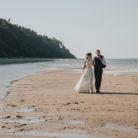 nadmorski plener ślubny
