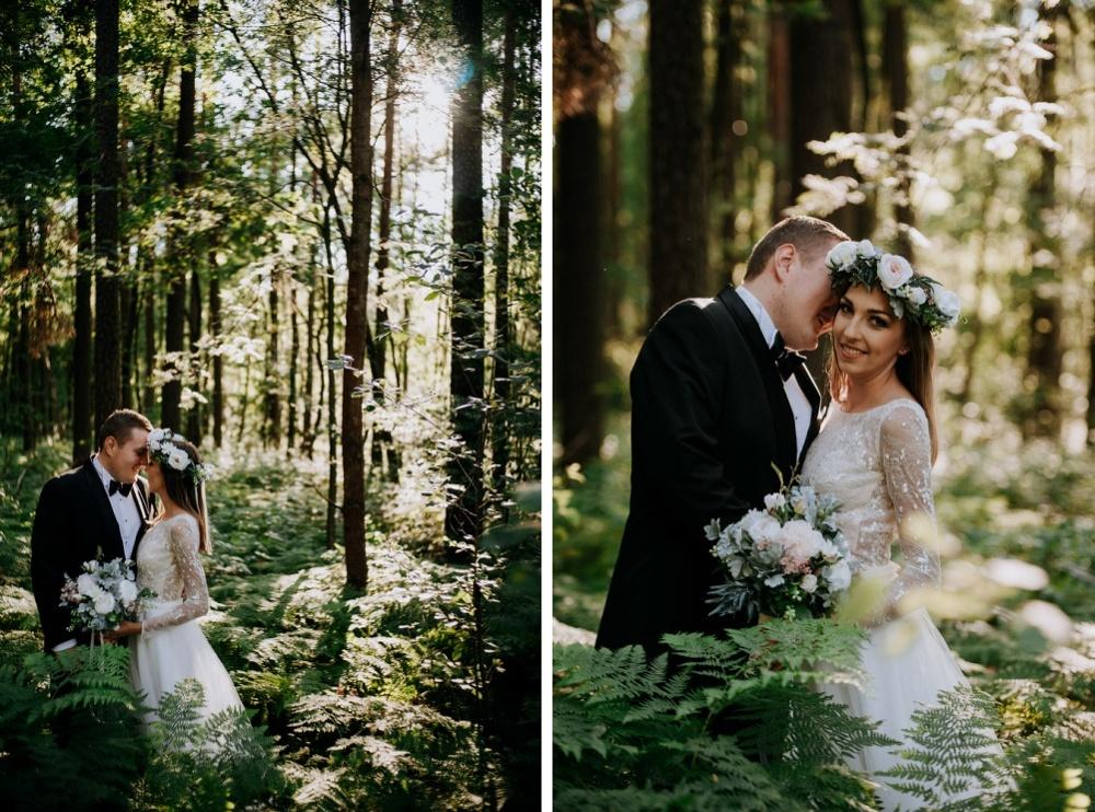 sesja ślubna w paprotkach